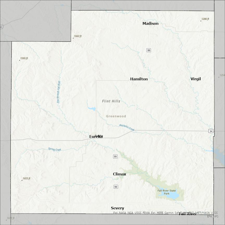 Greenwood County KS GIS Data